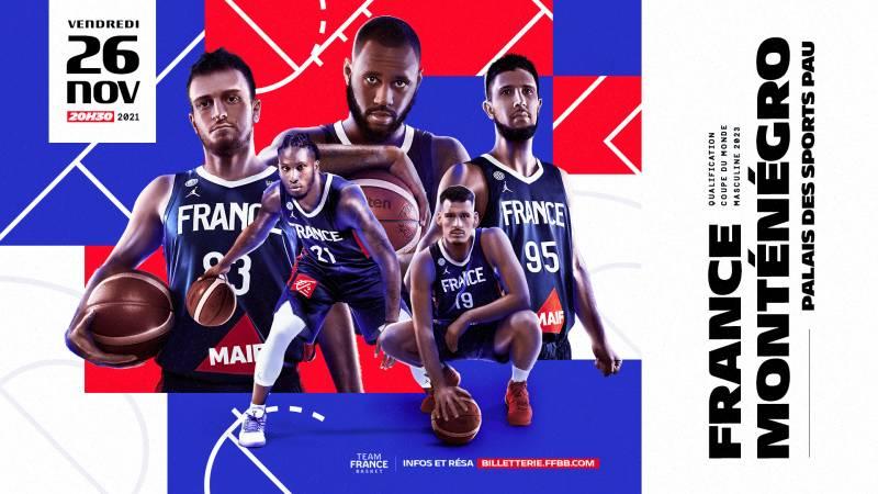 Ouverture de la billetterie pour le match France-Monténégro